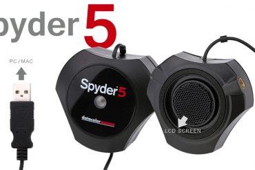 Spyder 5(モニターの色を正しくする)