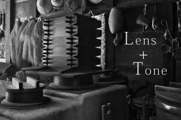 モノクロ写真のLens + Tone