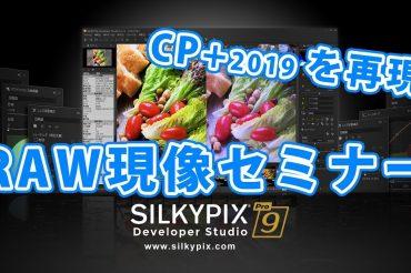 CP+のRAW現像セミナーを再現!SILKYPIX実践編セミナーYouTube版