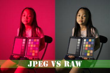 JPEG vs RAWデータ
